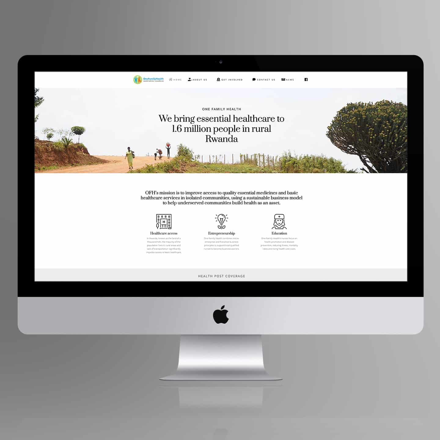 OFH website Design